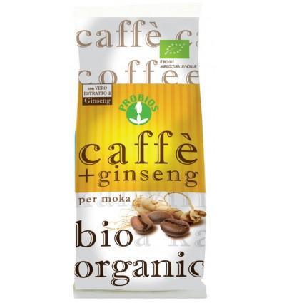 Caffè + Ginseng per moka - 250 g